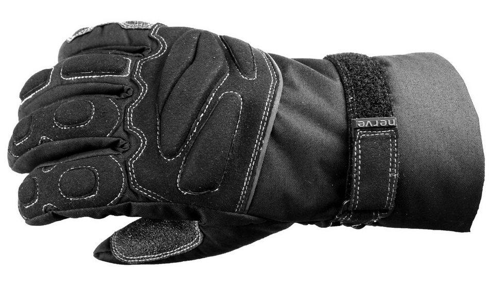Motorradhandschuhe »KQ08« in schwarz
