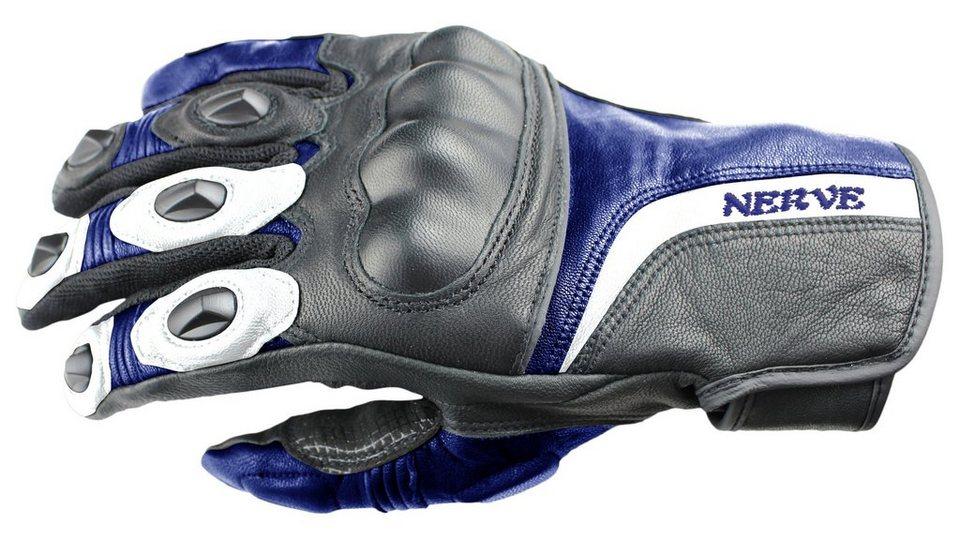 Nerve Motorradhandschuhe »KQ11« in blau/schwarz