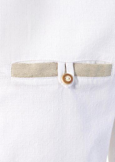 Trachtenhemd mit Stickerei, OS-Trachten