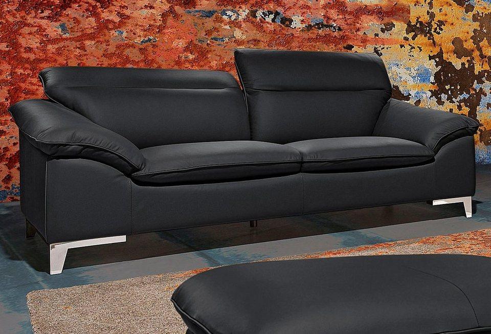 2-Sitzer, Cotta in schwarz