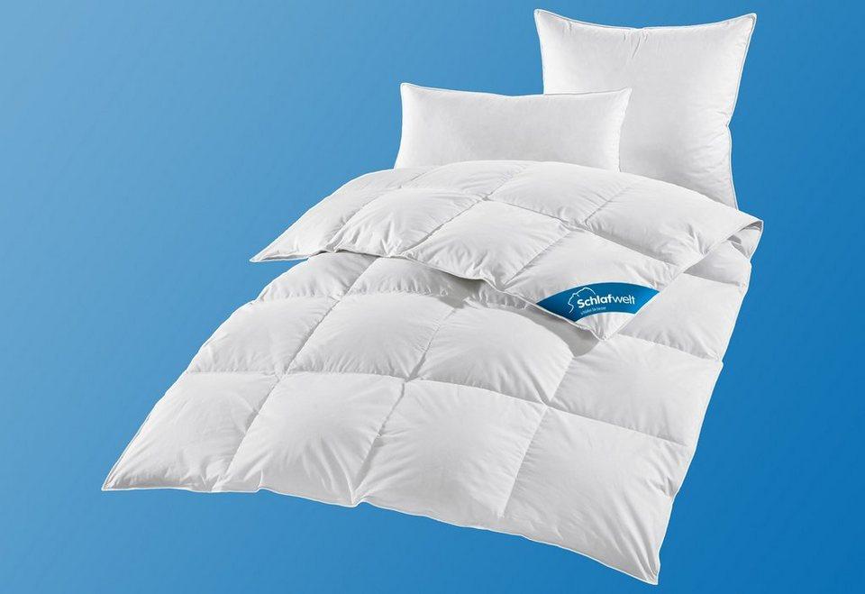 Daunenbettdecke, »Hanna«, Schlafwelt, Leicht, 60% oder 80% Daunen