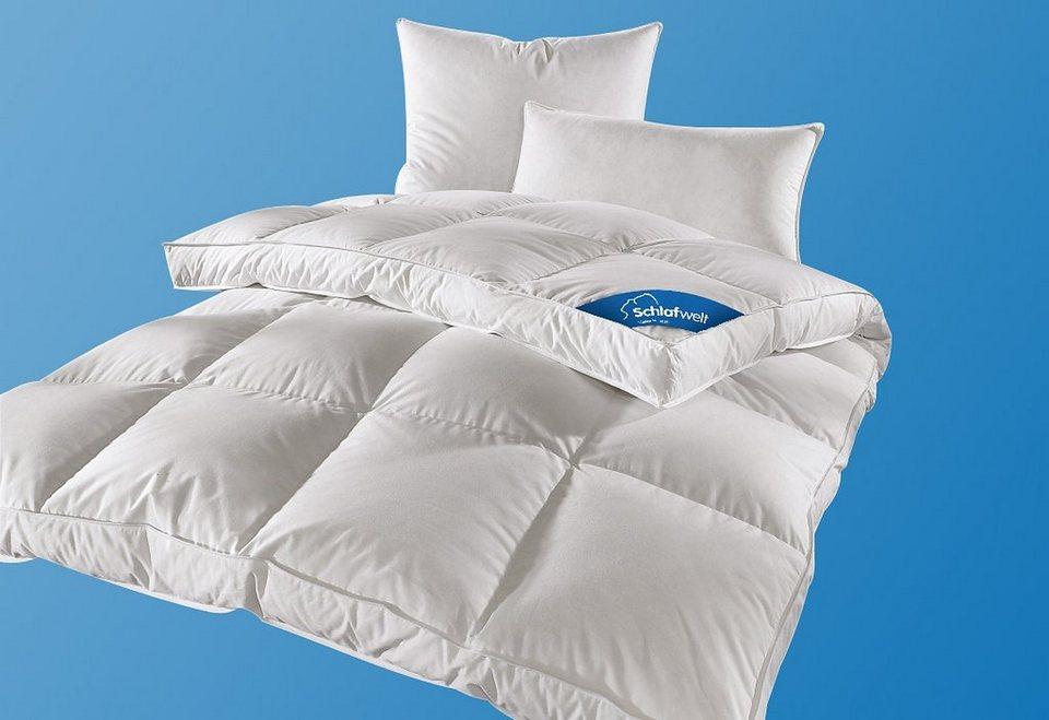 Feder Daunenbettdecke 187 Mila 171 Schlafwelt Warm 50
