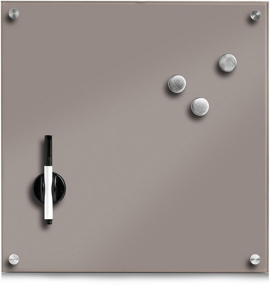 magnettafel home affaire 40 40 cm online kaufen otto. Black Bedroom Furniture Sets. Home Design Ideas