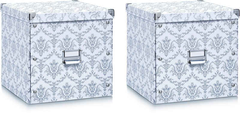 Zeller Present Aufbewahrungsbox, (2er Set)