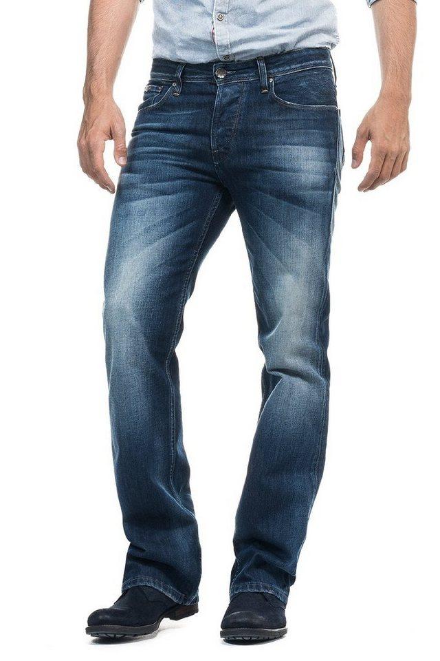 salsa jeans Jean »Bootcut/ Derby« in Blue