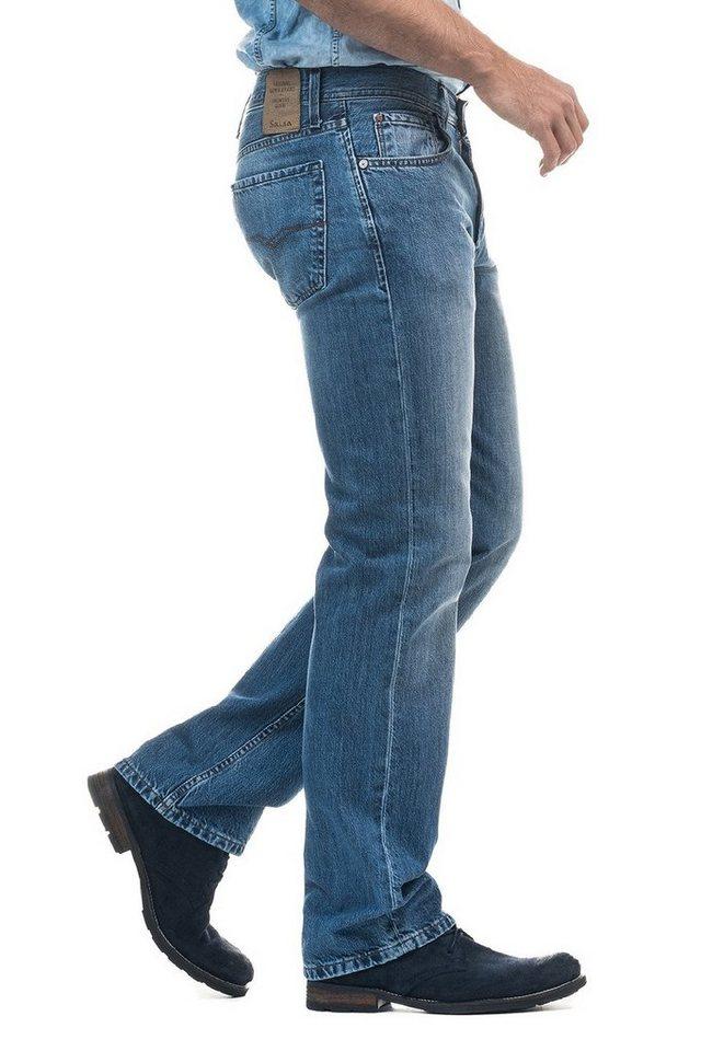 salsa jeans Jean »Classic Cut/ Dean« in Blue
