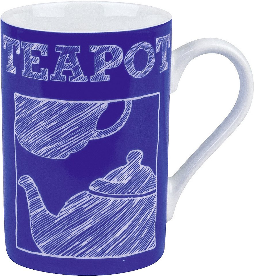Könitz Becher »Modern Tea - Teapot« in Blau
