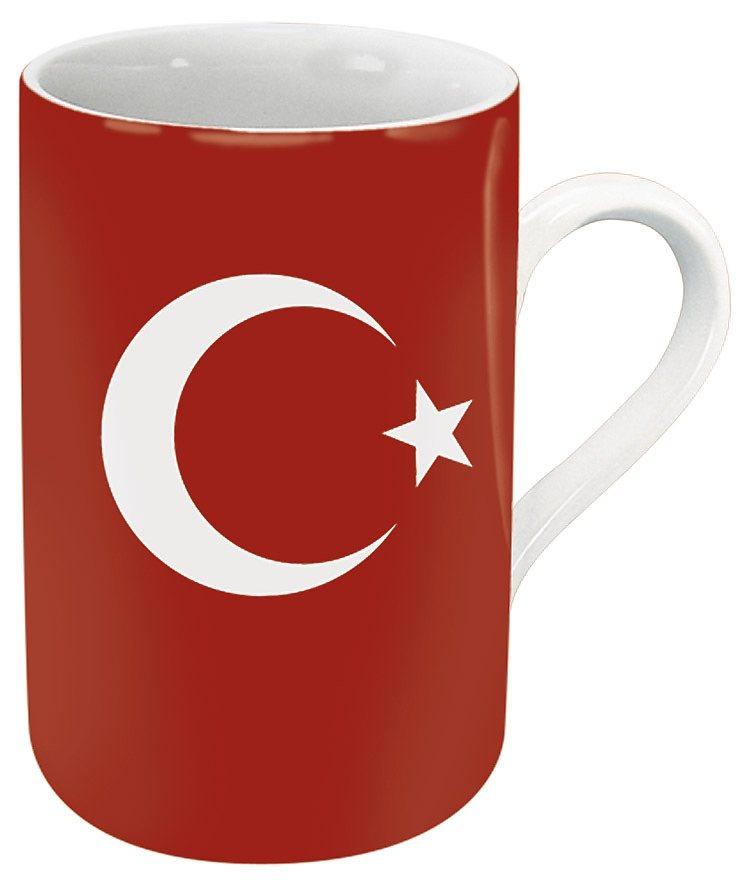 Könitz Becher »Türkei« in Rot