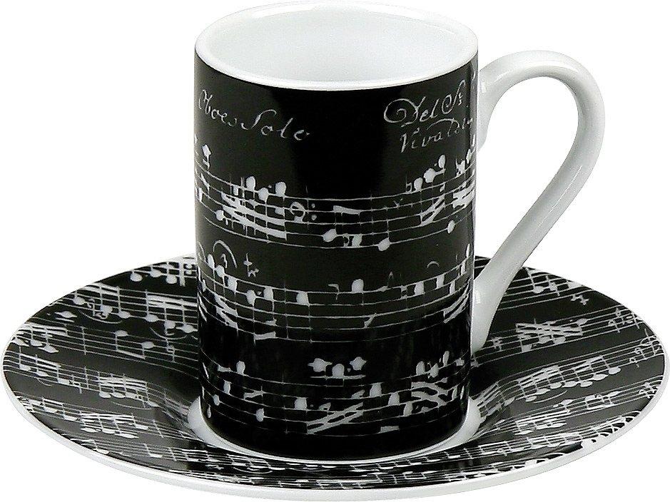 Könitz Minipresso-Set »Vivaldi Libretto« in Schwarz