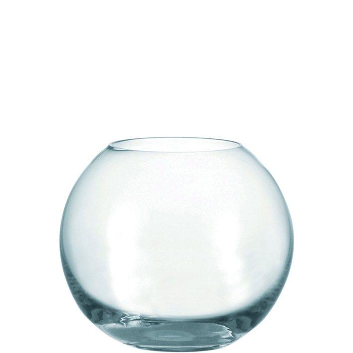 Leonardo Kugelvase »Boccia« in Transparent