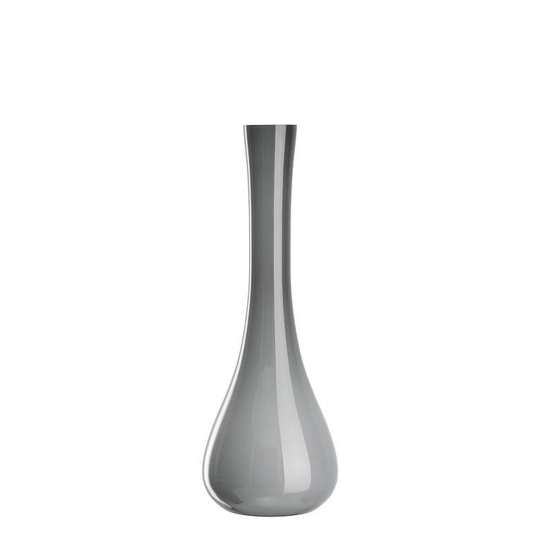 Leonardo Vase »Sacchetta« in Grau