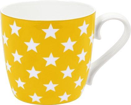 Könitz Becher »Stars« in Gelb