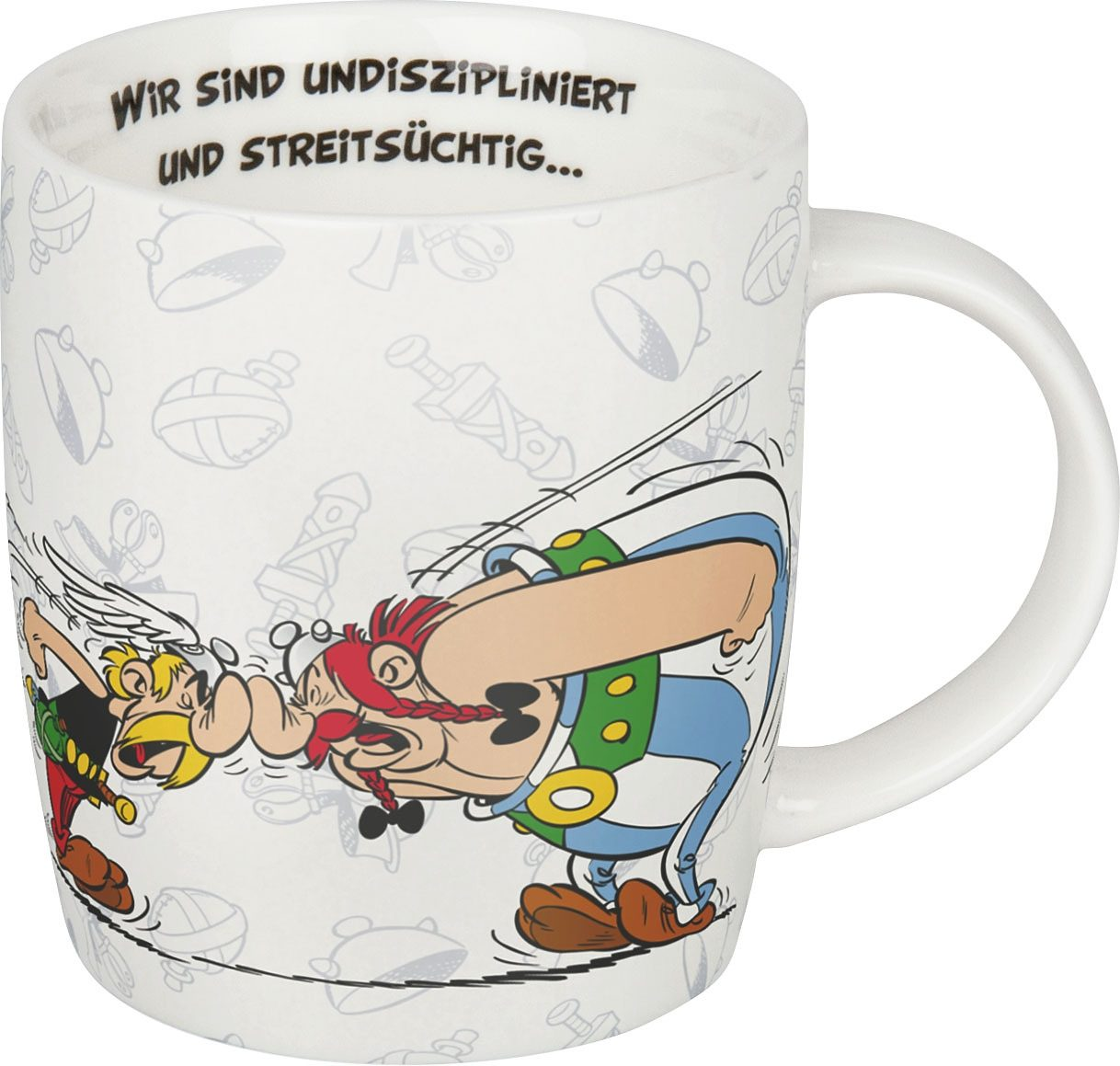 Könitz Becher »Asterix-...aber wir lieben«