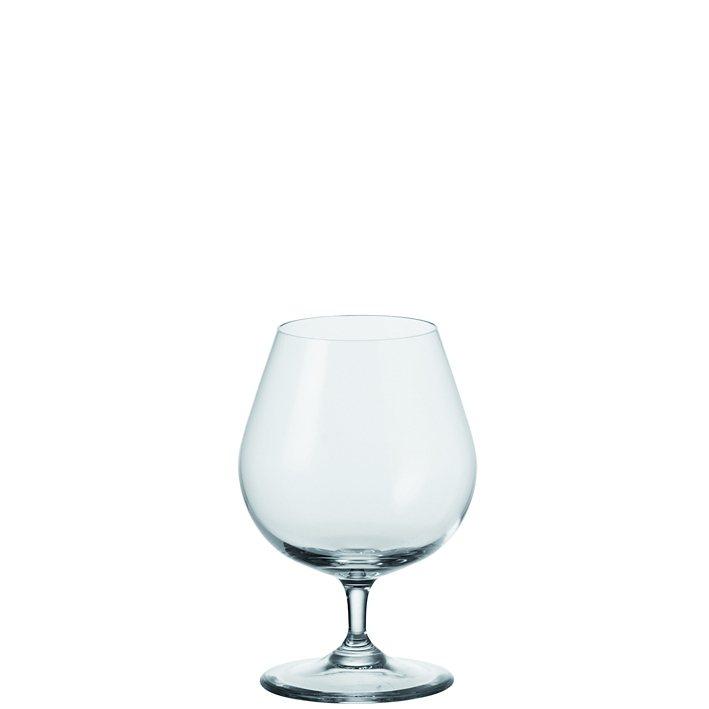 Leonardo Cognac Glas Ciao+ in Transparent