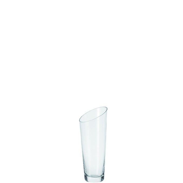 Leonardo Vase »Dynamic« in Transparent