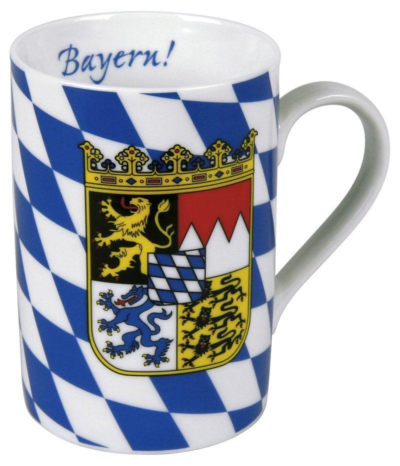 Könitz Becher »Bayern« in Bunt