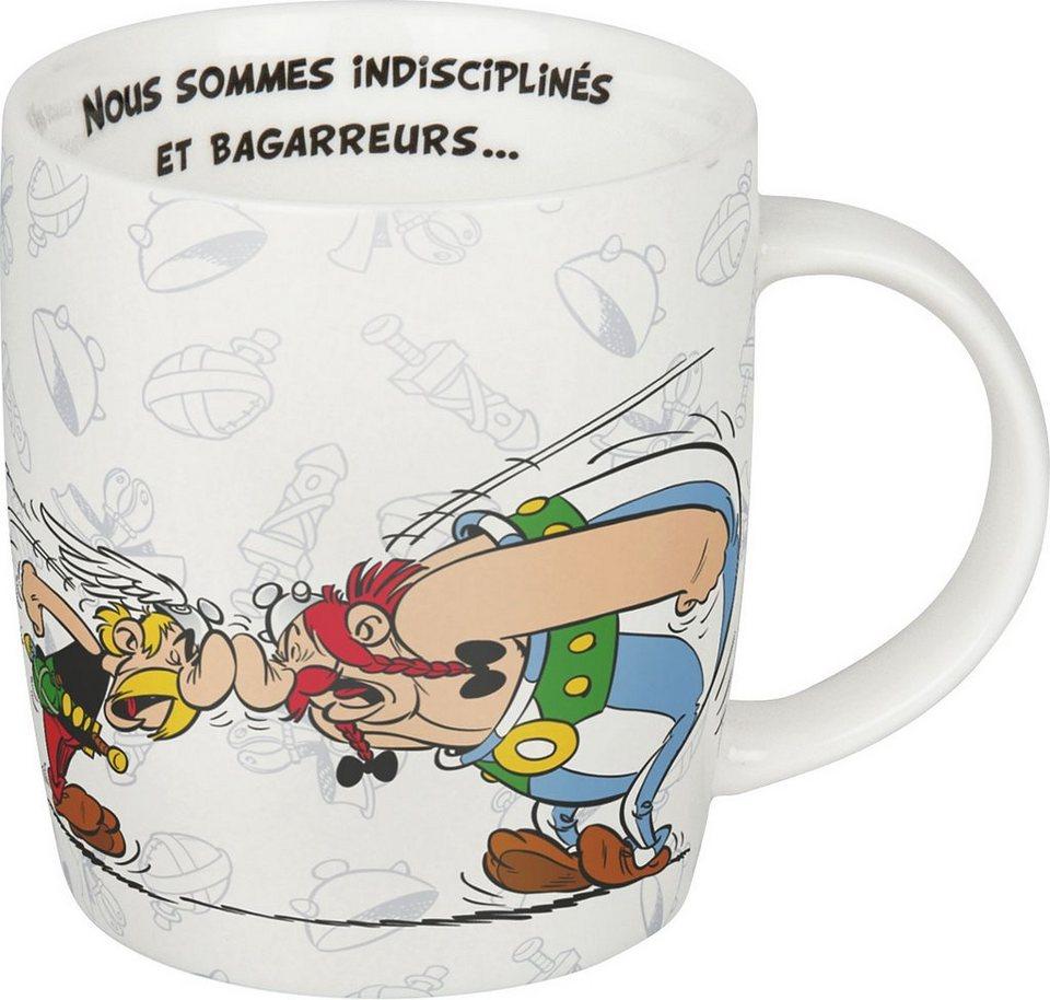 Könitz Becher »Asterix-... mais nous« in Bunt