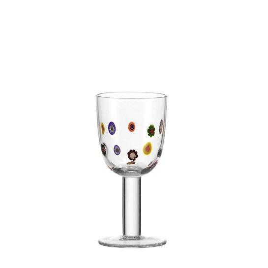 Leonardo Weißwein-Glas »Millefiori« in Transparent