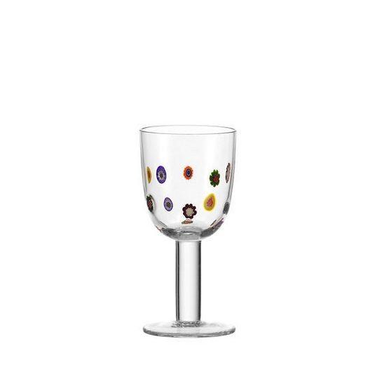 Leonardo Weißwein-Glas »Millefiori«