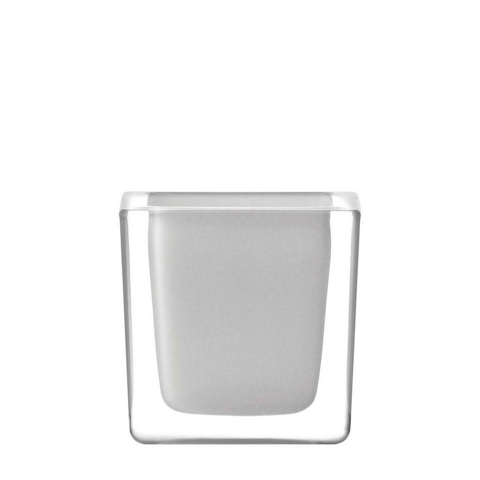 Leonardo Tischlicht »Cube« in Weiß