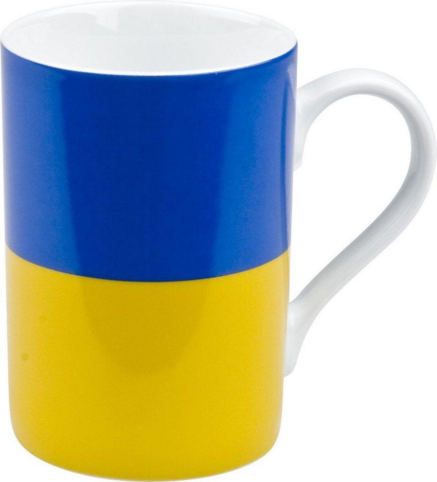 Könitz Becher »Ukraine« in Bunt