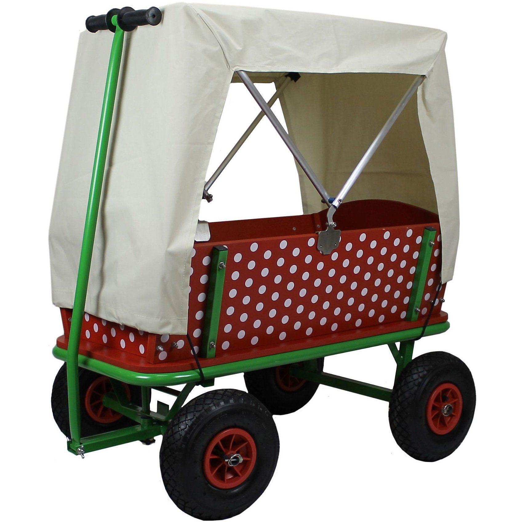 Beachtrekker Bollerwagen Style Rotkäppchen mit Faltdeck