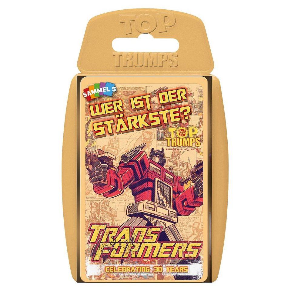 Winning Moves Top Trumps - Transformers Retro