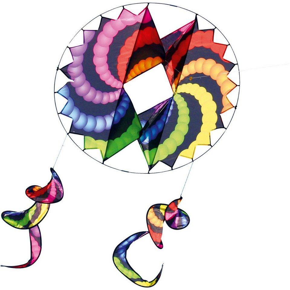 Drachen 3D Wirbelkreise