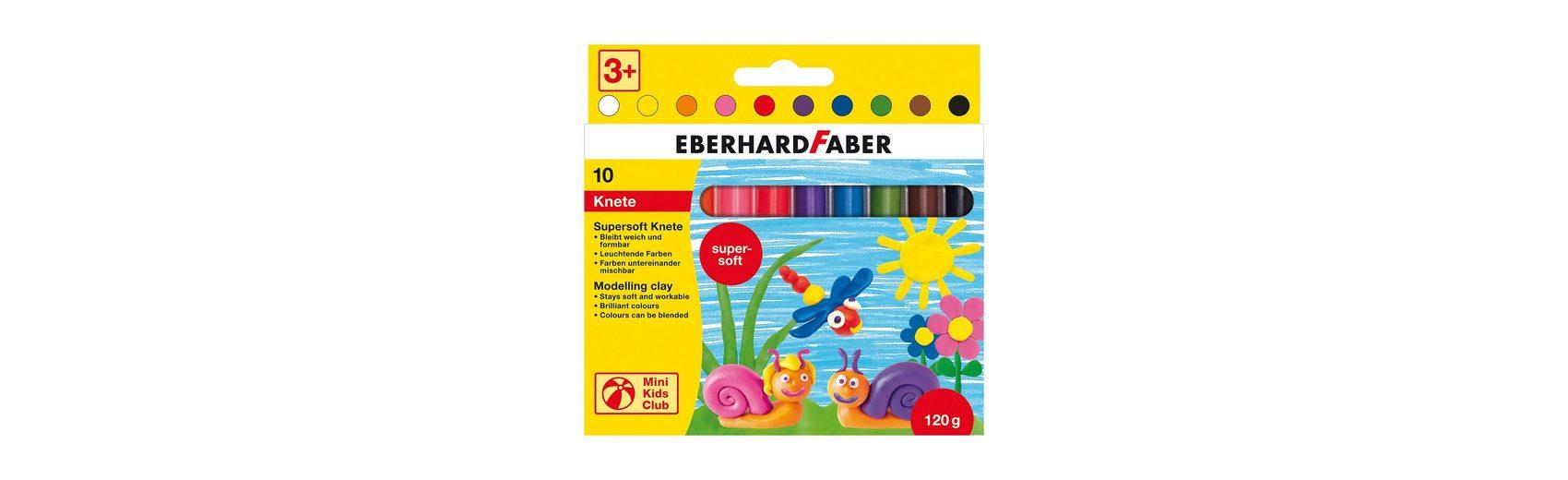 Eberhard Faber Mini Kids Supersoft-Knete, 10 Stangen