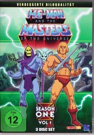 DVD »HE-MAN AND THE MASTERS OF THE UNIVERSE -...«