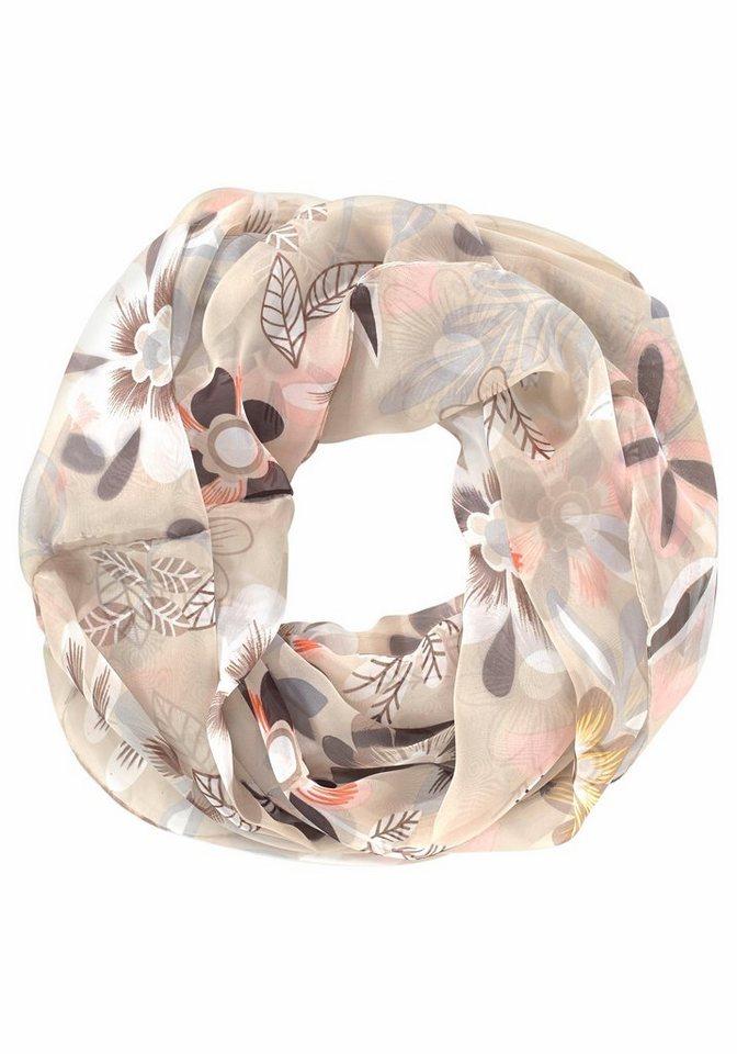 J. Jayz Loop »mit schönem Blumendesign« in beige-bunt