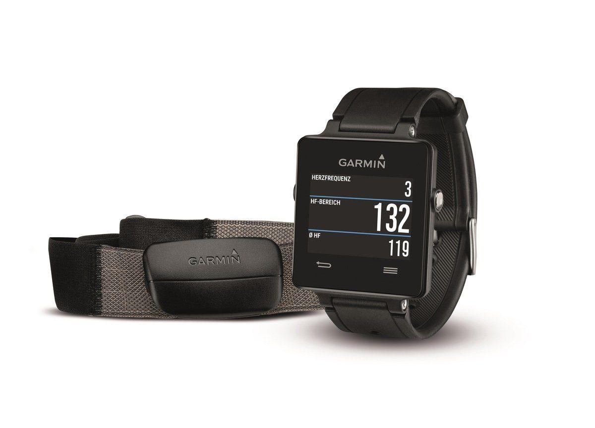 Garmin GPS-Smartwatch »vivoactive - HRM Bundle«