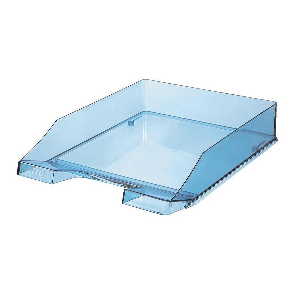 OTTO Office Standard Briefkorb »Economy« in transparent blau
