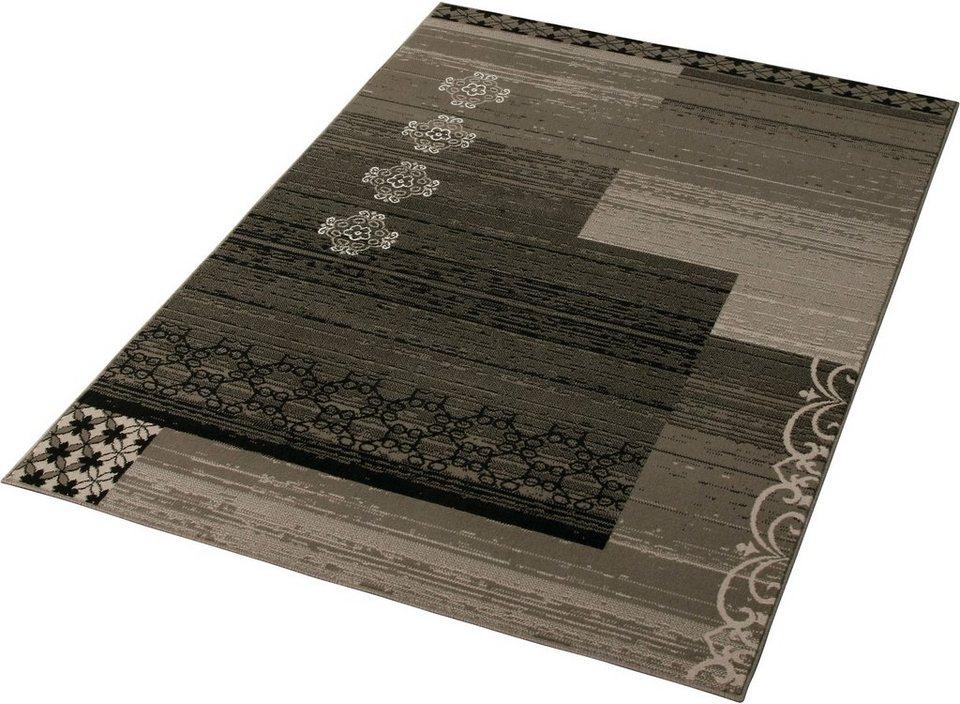 Teppich »Emblem«, Hanse Home, rechteckig, Höhe 7 mm in grau