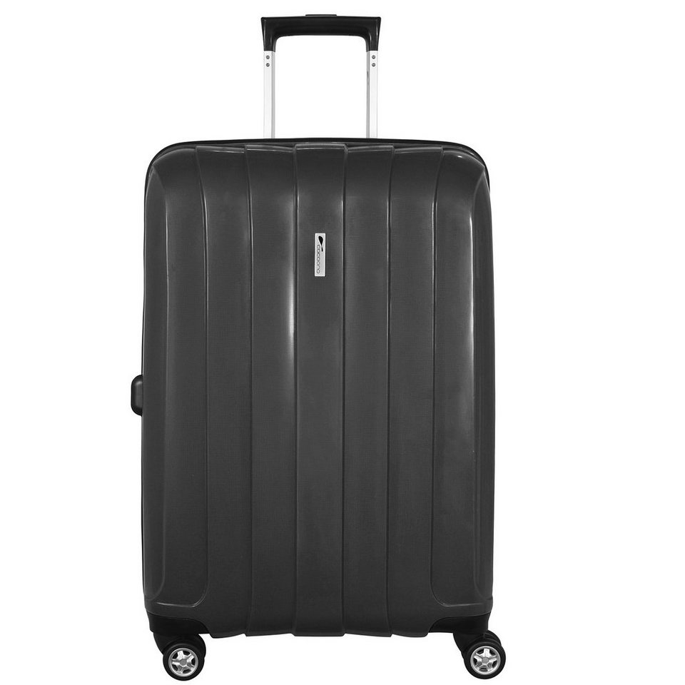cocoono Groove 4-Rollen Trolley 66 cm in anthrazit