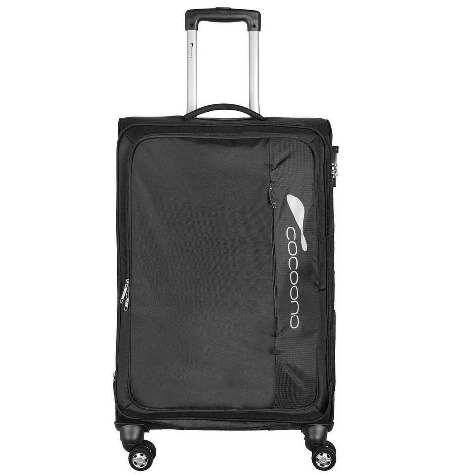cocoono IPak Soft 4-Rollen Trolley 63 cm in schwarz