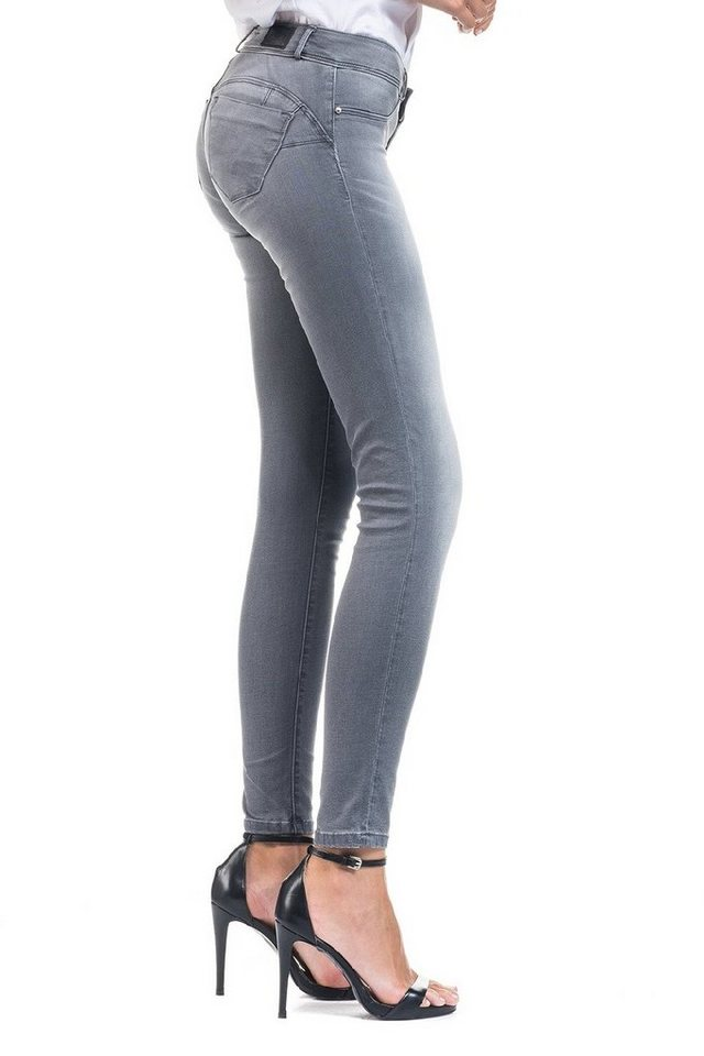 salsa jeans Jean »Push Up/ Wonder« in Grey