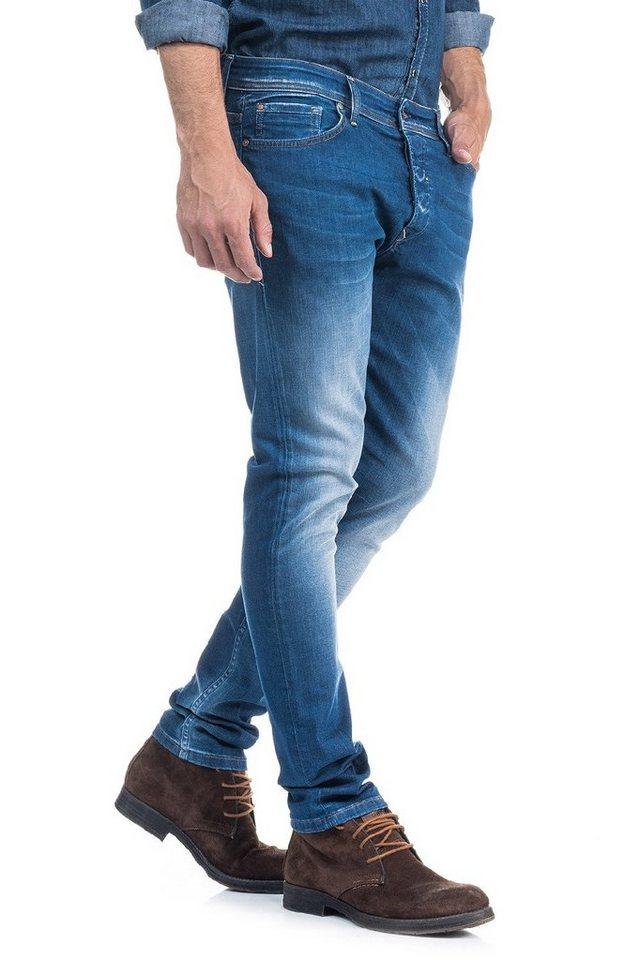 salsa jeans Jean »Slim Carrot/ Slender« in Blue