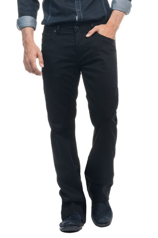 salsa jeans Jean »Bootcut/ Derby« in Black