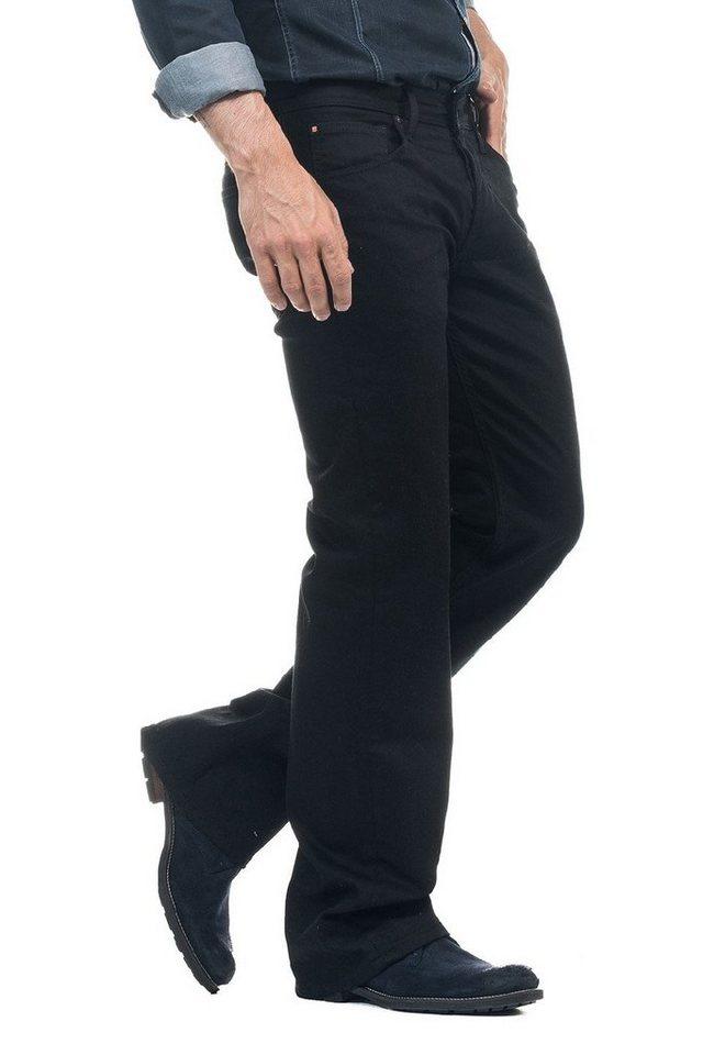 salsa jeans Jean »Bootcut/ Derby« in Black