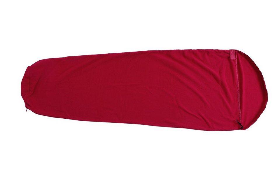 Basic Nature Schlafsack »Fleece Schlafsack« in rot