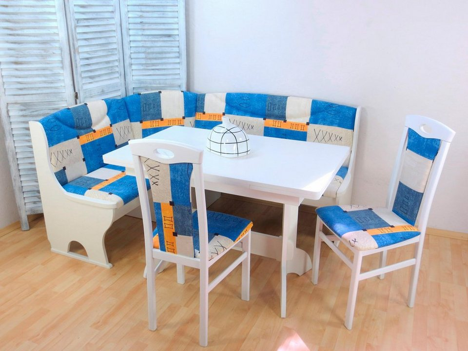 eckbankgruppe mit stauraum 4 teilig online kaufen otto. Black Bedroom Furniture Sets. Home Design Ideas