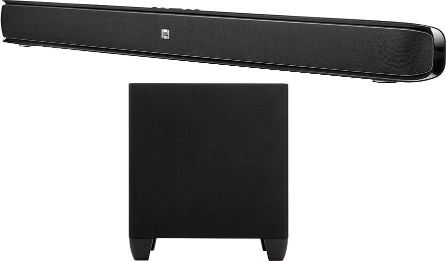 JBL Cinema SB400 2.1 Soundbar System, 200 Watt in schwarz