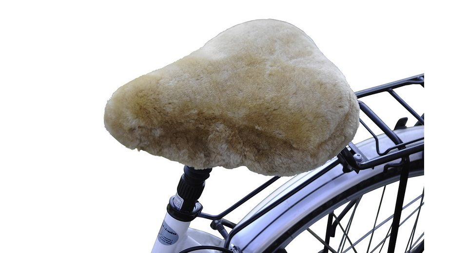 Fahrradsattelbezug »Lammfell Touren«