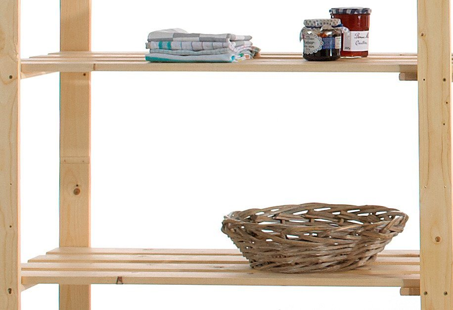 Zusatzböden, 2 Stück, Holz-Allzweckregal in kiefer