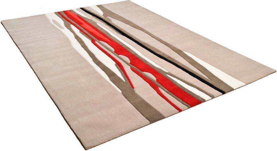 Teppich, Arte Espina, »Spirit«, handgetuftet in grau multi