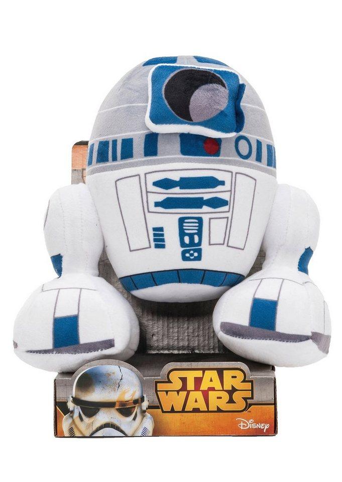 JOY TOY Plüschfigur, »Star Wars - R2-D2« in weiß/blau