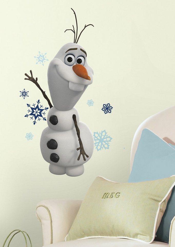 JOY TOY Wandsticker, »Disney's Frozen - Olaf Wandtattoos - Die Eiskönigin« in weiß