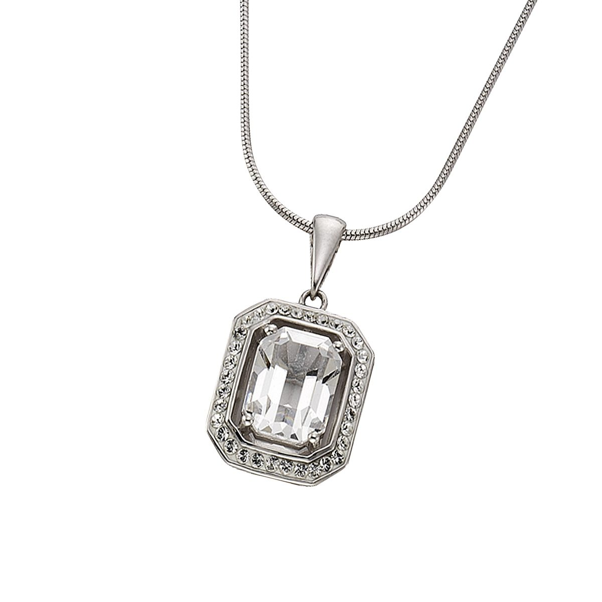 Crystelle Anhänger mit Kette »925/- Sterling Silber Swarovski«
