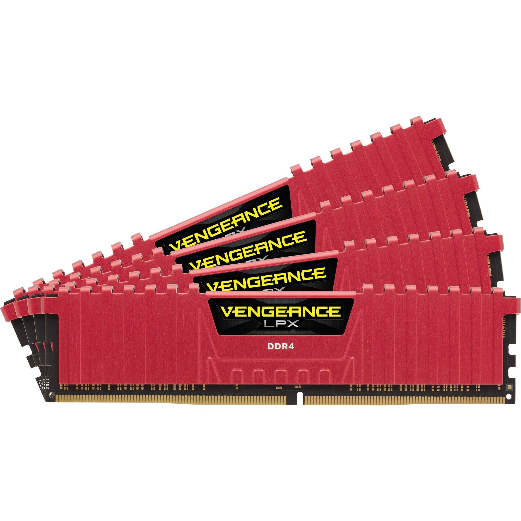 Corsair Arbeitsspeicher »DIMM 32GB DDR4-2400 Quad-Kit«